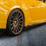 Yellow Scion FR-S with TRD Kit and Bronze Vossen Wheels (18)