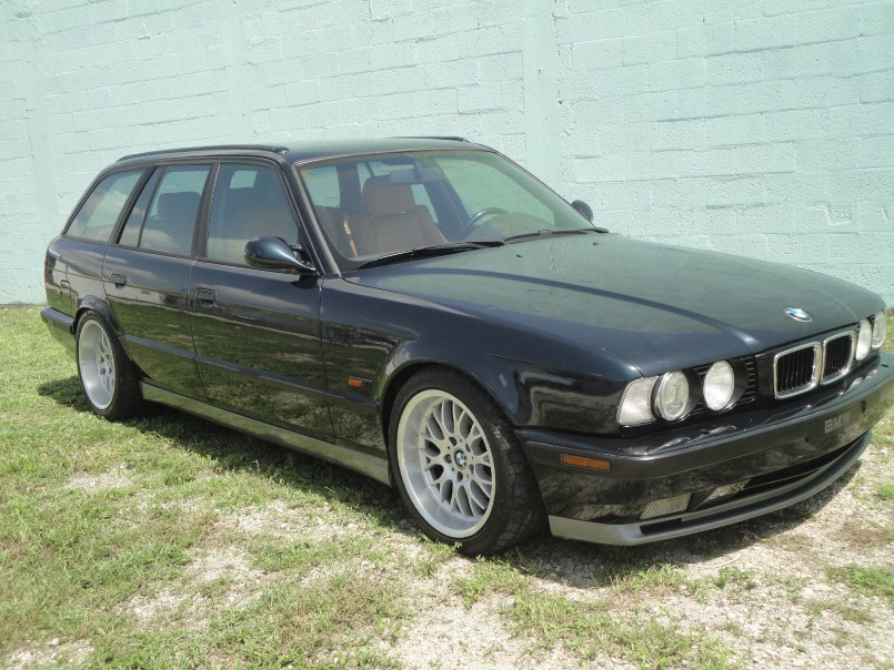 1995 Bmw E34 Wagon With S38 M5 Engine Swap Dpccars