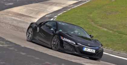 2016 Honda NSX exhaust sound on the Nurburgring (2)