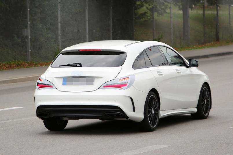 2016 mercedes benz cla facelift spy photo dpccars for 2016 mercedes benz cla