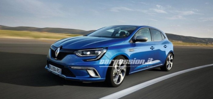 2016 Renault Megane official leaked photos