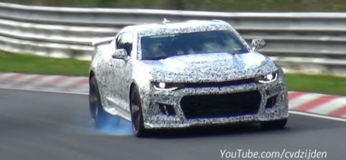 2017 Camaro ZL1 Spied testing on the Nurburgring (2)
