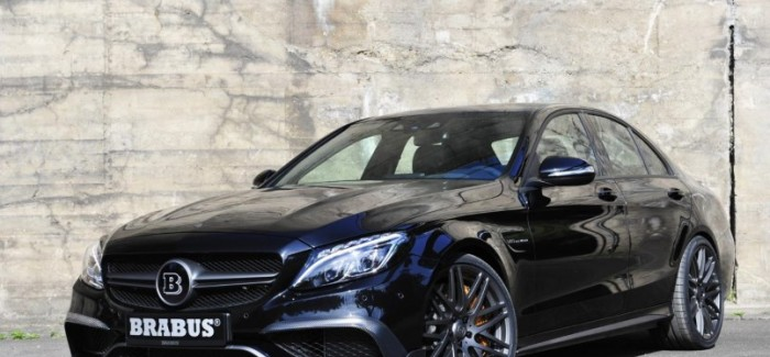 600HP Mercedes AMG C63 S by Brabus