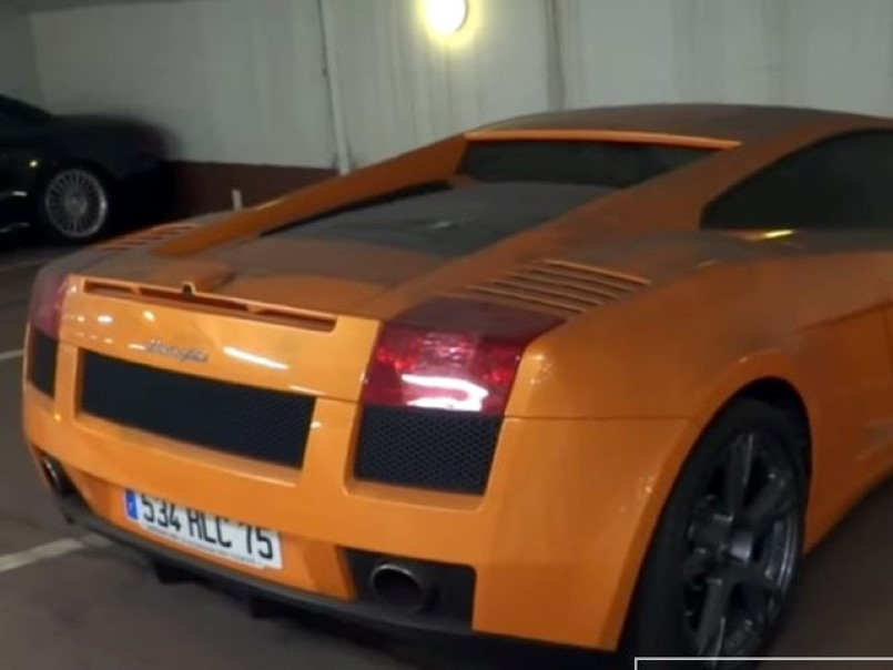 Abandoned Supercars In A Paris Parking Lot Video Dpccars