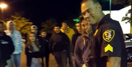 Awesome Cop Breaks Up Car Meet With Class (4)