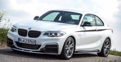 BMW M235i with BMW M Performance Accessories On A Race Track (1)
