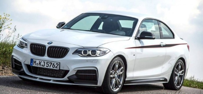 BMW M235i with BMW M Performance Accessories On A Race Track – Video