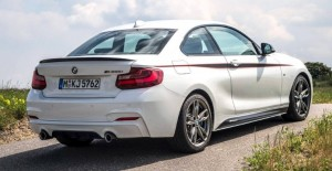 BMW M235i with BMW M Performance Accessories On A Race Track (2)