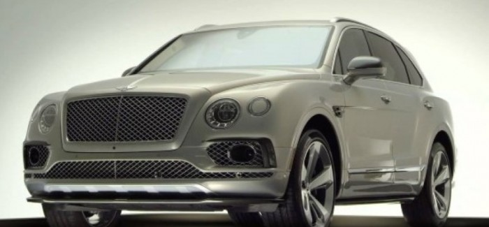 Bentley Bentayga Styling Pack – Video