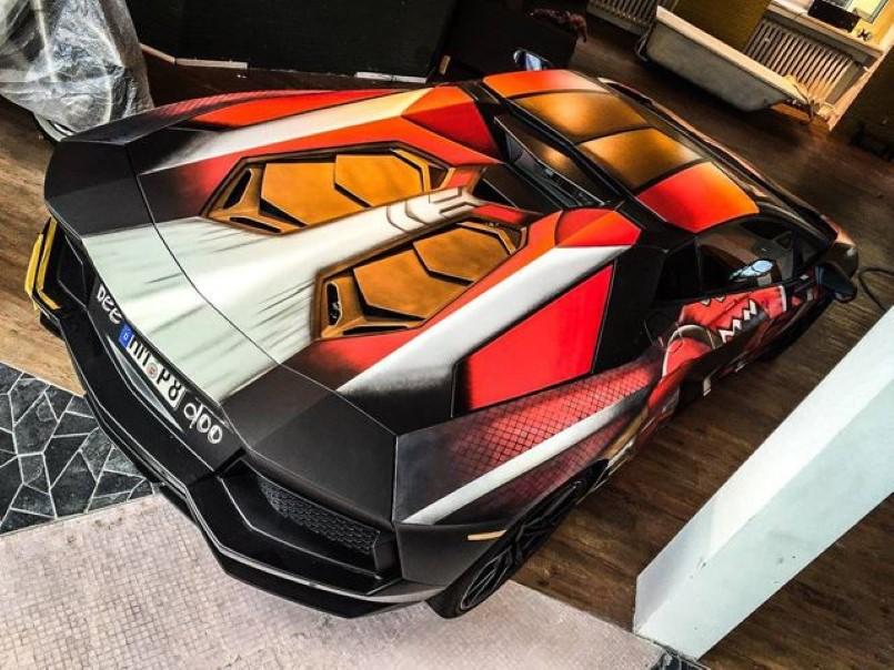 Color Changing Iron Man Lamborghini Video Dpccars