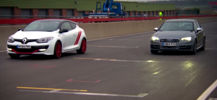 Fifth Gear - Prost vs Senna - Megane Renaultsport 275 Trophy-R vs Audi S3 (1)