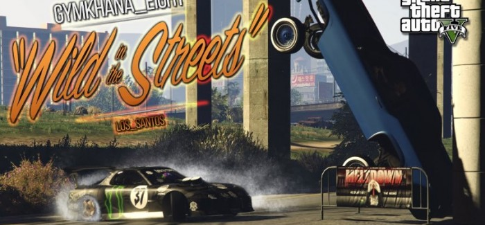 GTA 5 – Gymkhana Eight – Wild in the Streets of Los Santos – Video
