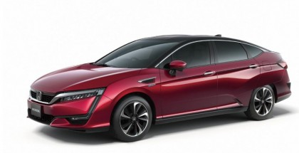 Honda FCV fuel cell vehicle official photo (1)