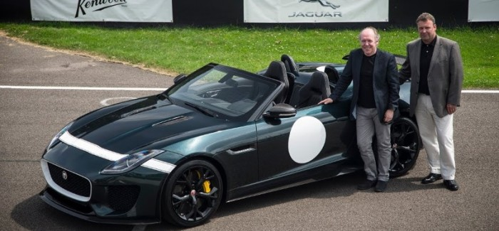 Jay Leno gets to drive the Jaguar F-TYPE Project 7 – Video