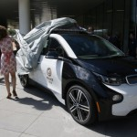 LAPD Gets A Tesla Model S P85D And A BMW i3 (1)