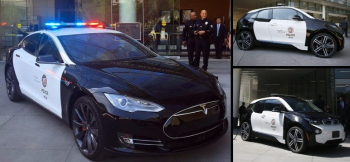 LAPD Gets A Tesla Model S P85D And A BMW i3