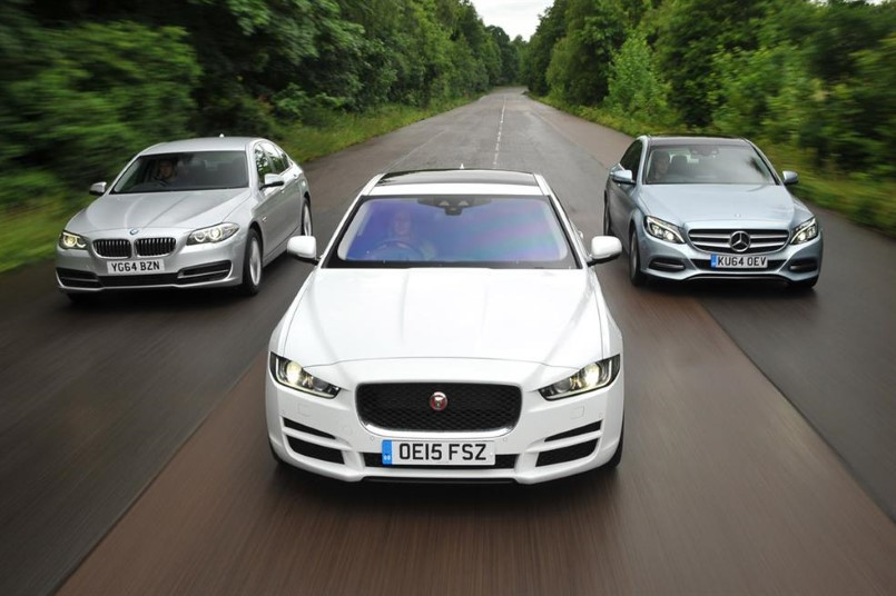 new models bmw 3 series vs jaguar xe vs mercedes c class video dpccars. Black Bedroom Furniture Sets. Home Design Ideas