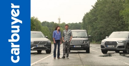 Old Land Rover Discovery vs New Audi Q7 vs New Volvo XC90 (2)