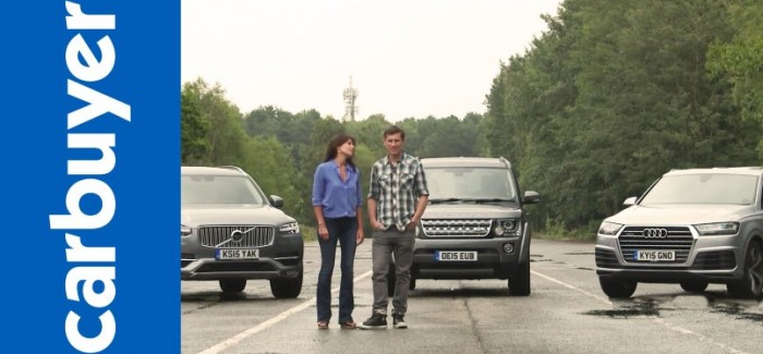 Old Land Rover Discovery vs New Audi Q7 vs New Volvo XC90 – Video
