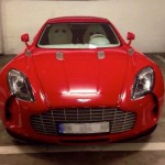 Red Aston Martin One-77 Spotted (3)