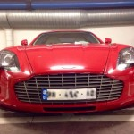 Red Aston Martin One-77 Spotted (5)