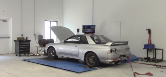 So How Much Horsepower Does A Stock Nissan R32 Gt R Make On The Dyno
