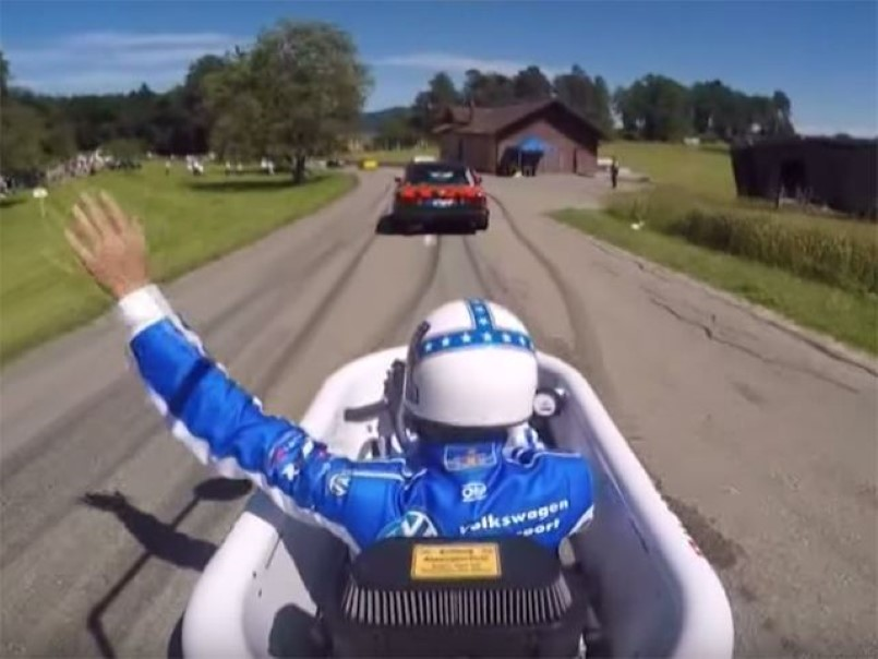 This Bathtub Kart Is Simply Awesome Video Dpccars