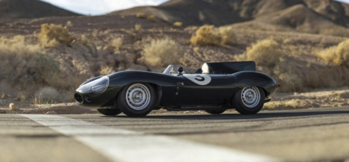 1956 Jaguar D-Type expected to sell for over $5 Million Dollars