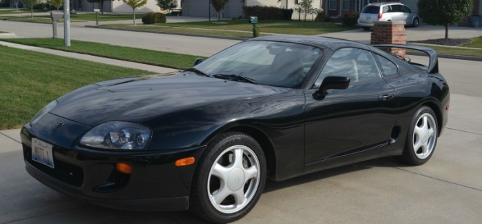 1993 toyota supra with 33k miles on ebay auction how much will it sell for dpccars. Black Bedroom Furniture Sets. Home Design Ideas