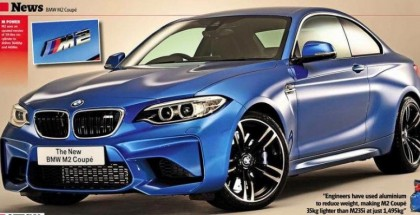2016 BMW M2 Official Picture (2)