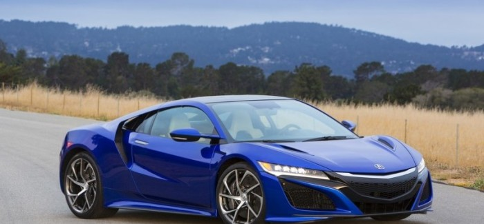 2017 Acura NSX will have at 573 horsepower 476 lb-ft and weighs 3,803 lbs