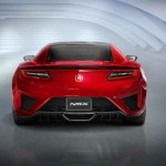 2017 Acura NSX will have at 573 horsepower 476 lb-ft and weighs 3,803 lbs (2)