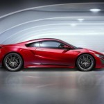 2017 Acura NSX will have at 573 horsepower 476 lb-ft and weighs 3,803 lbs (3)