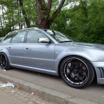 Audi RS4 with matching trailer (2)