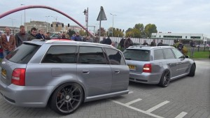 Audi RS4 with matching trailer (3)