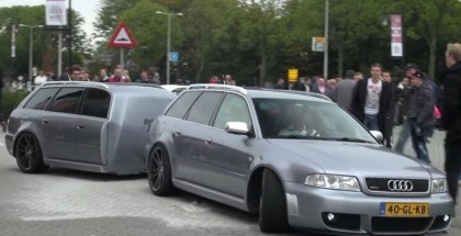 Audi RS4 with matching trailer (4)