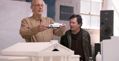 Back to the Future's Marty McFly and Doc Brown are back with a 5 minute Toyota Mirai Video (1)