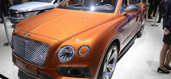 Bentley Bentayga diesel will get e-turbo technology
