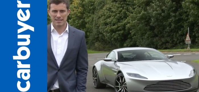 Carbuyer Review of the James Bond Spectre Aston Martin DB10 – Video
