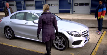 Fifth Gear - Team review of the new C300 BlueTEC Hybrid AMG Line (2)