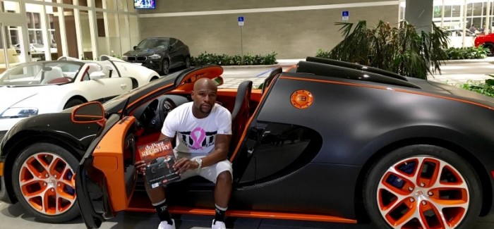 Floyd Mayweather adds another Bugatti Veyron to his car collection