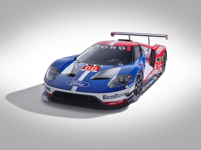 Ford Gt Racecar Development With Sebring Track Test Footage