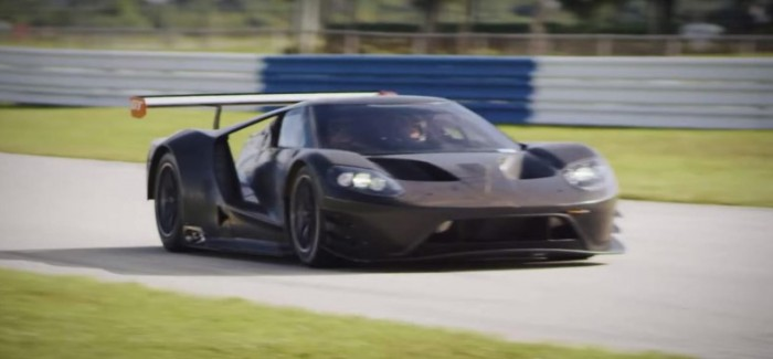 Ford GT racecar development with Sebring track test footage – Video