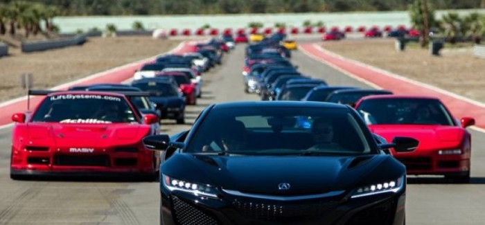 Here is how to celebrate Acura NSX's 25th birthday