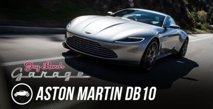 Jay Leno Review - James Bond's 2016 Aston Martin DB10 (2)