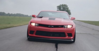 John Hennessey gets a call from OnStar while testing the 650+ HP Z28 Camaro (1)