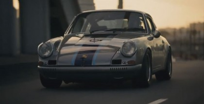 Magnus Walker street racing  and fast driving on public roads