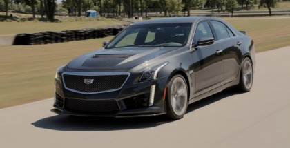 Motor Trend - 2016 Cadillac CTS-V Review (2)