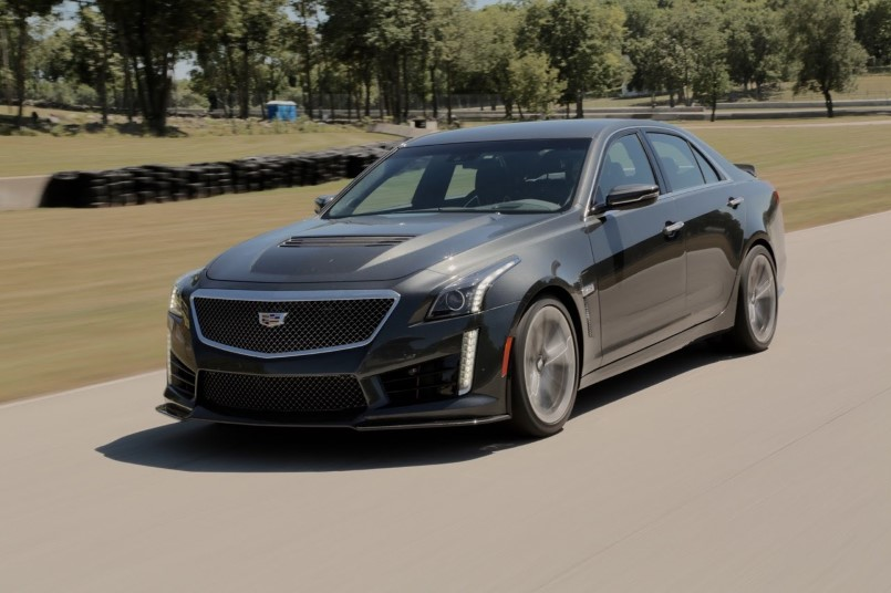 Model Motor Trend  2016 Cadillac CTSV Review  Video  DPCcars