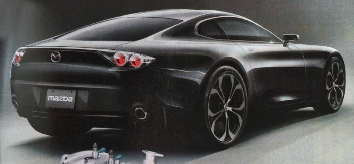 Mystery Mazda Sports Car Concept Could Have A Rotary Engine